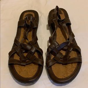 Size 10 BOC Brown Sandals